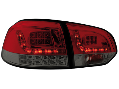 LED Rückleuchten VW Golf VI MIT LED Blinker red/smoke