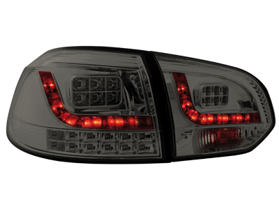 LED Rückleuchten VW Golf VI MIT LED Blinker smoke
