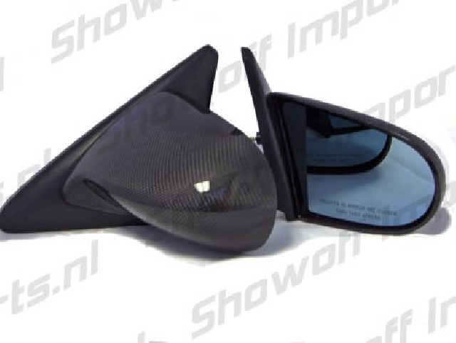 Honda Civic/CRX 88-91 Spoon Style Real Carbon Mirrors Manual