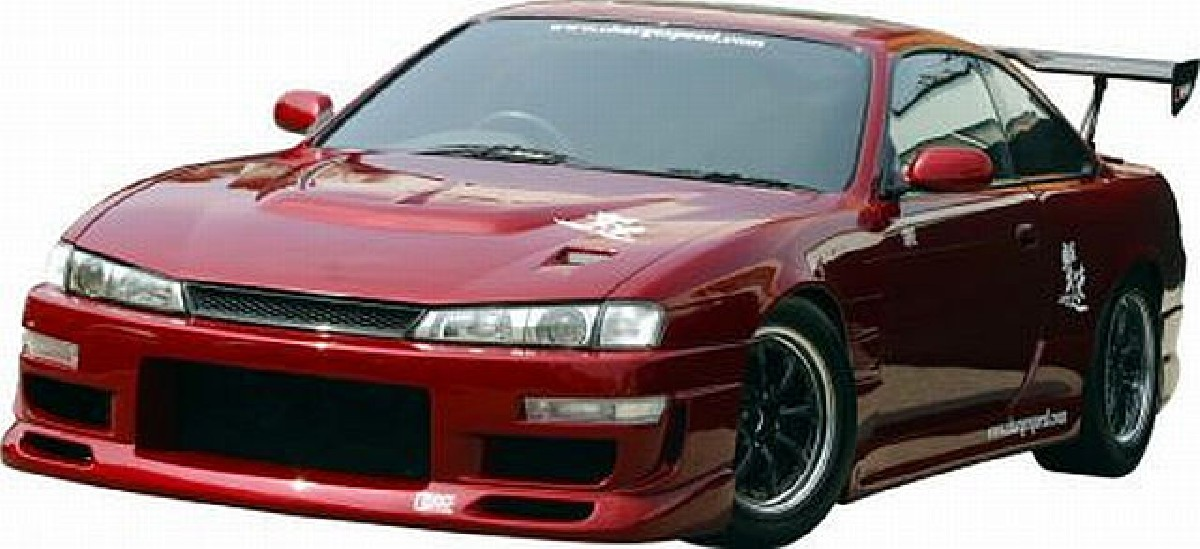 Chargespeed Frontstoßstange Nissan Silvia S14A (97-99)