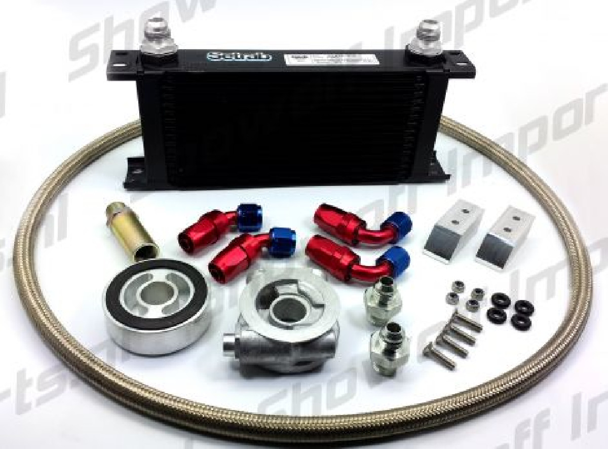 Subaru BRZ Oil Cooler Kit HEL / MOCAL 19 Row