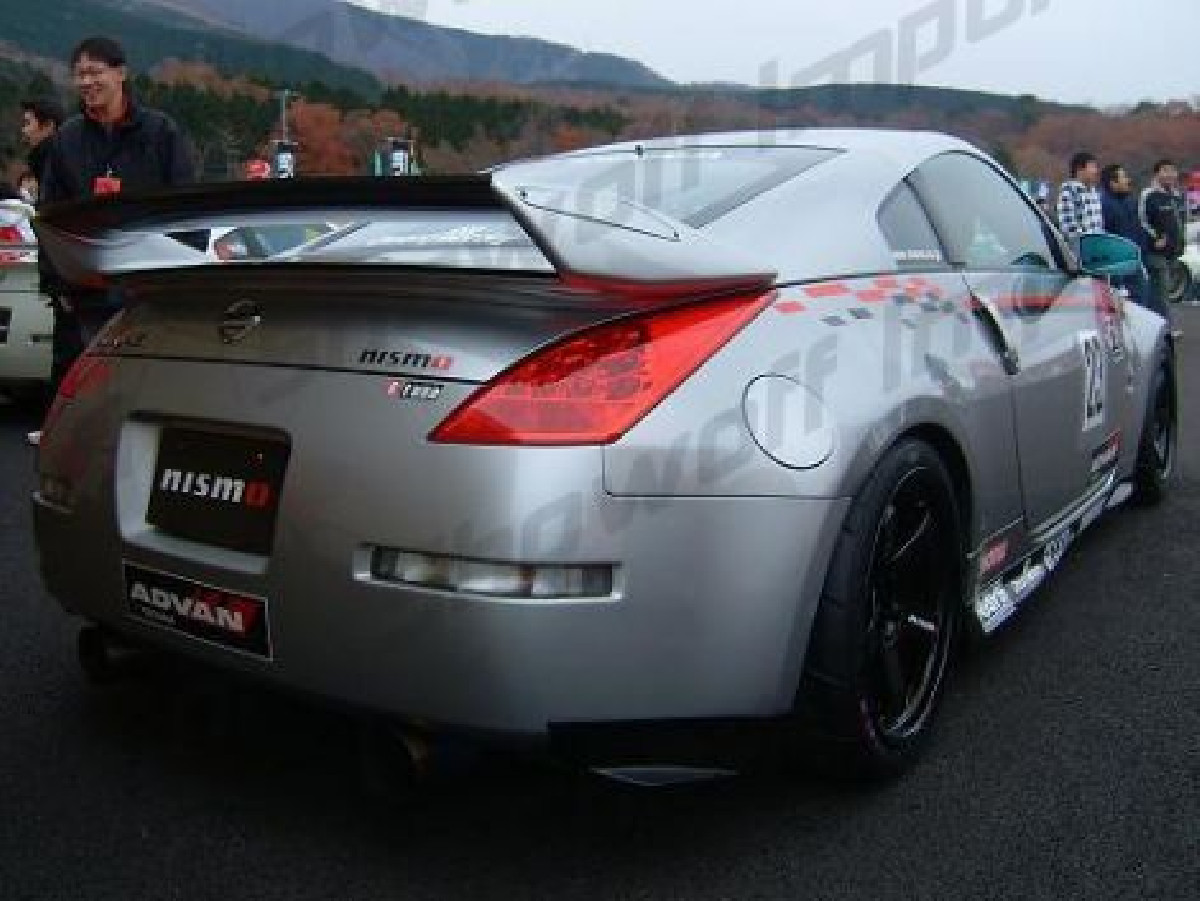 Nissan 350Z  Rear Spoiler/Wing + Carbon Center