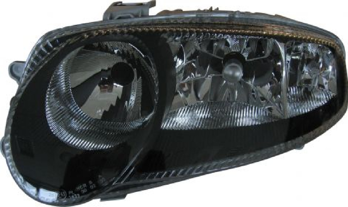 Alfa Romeo 147 Headlights Black V1